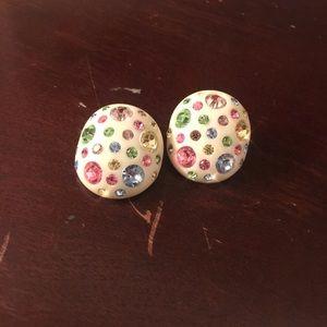 Jewelry - Vintage Weiss clip on earrings